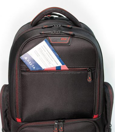 "Professional Backpack - 16"" - Black-18924"
