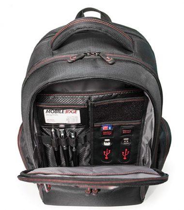 "Professional Backpack - 16"" - Black-18920"
