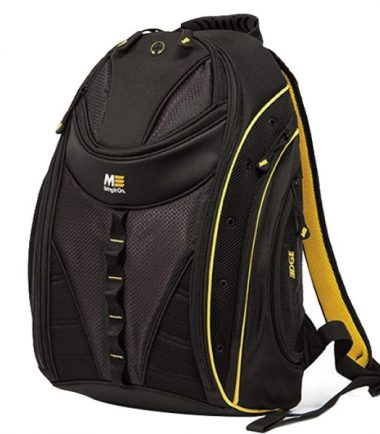 Express Backpack 2.0 Black w/Yellow Trim