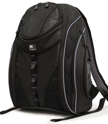 Express Backpack 2.0 Black w/Silver Trim