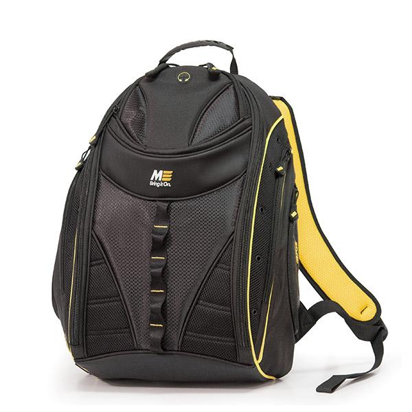 Express Laptop Backpack - Black / Yellow