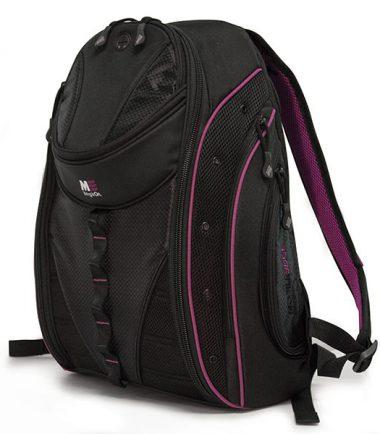Express Backpack 2.0 Black w/Lavender Trim