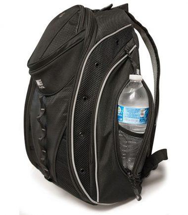 Hidden water bottle holder