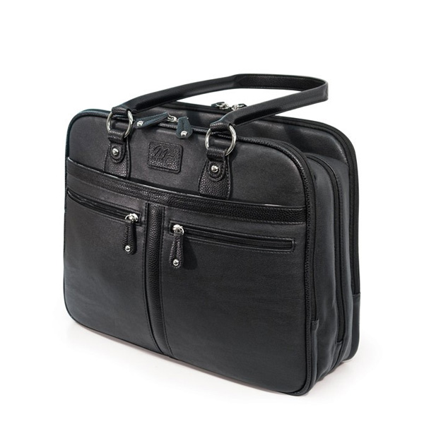 Verona Laptop Tote - Black-0