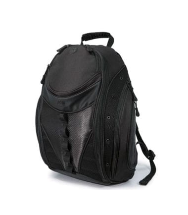 Mobile Edge Express Backpack 2.0 Black MEBPE12-Front Flat Pocket