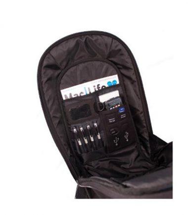 ECO Laptop Backpack (Eco-Friendly, Black)-19178