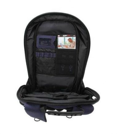 ECO Laptop Backpack (Eco-Friendly, Navy Blue)-19174