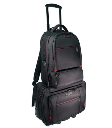 Professional Backpack and Rolling Case Combo -19318