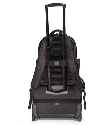 Professional Backpack and Rolling Case Combo -19321