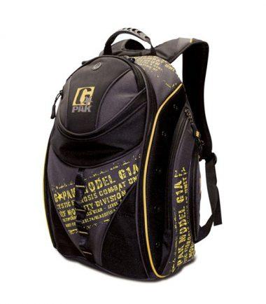 BEF G-PAK Backpack - Black / Yellow-0