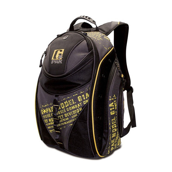 BEF G-PAK Backpack - Black / Yellow-0