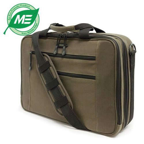 Eco-Friendly Briefcase (Olive)-0