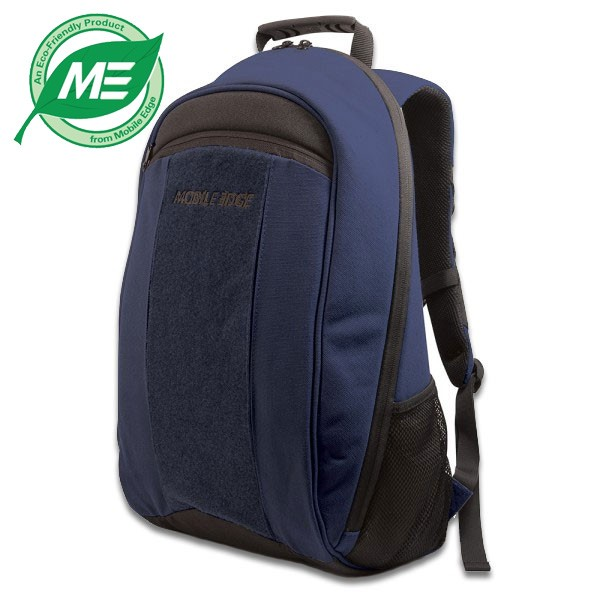 ECO Laptop Backpack (Eco-Friendly, Navy Blue)-0