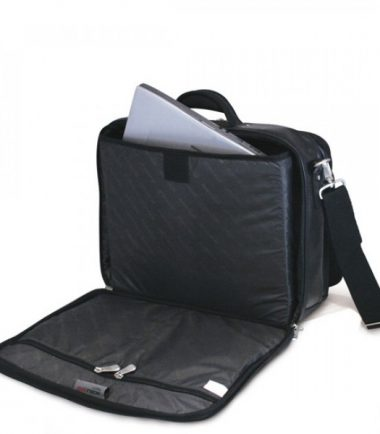 Premium Briefcase - Navy (Laptop Bag) - Laptop Compartment