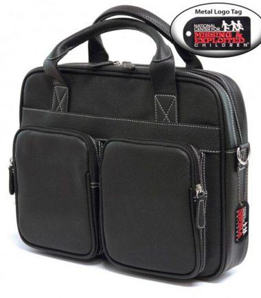 The Tech Briefcase - Black-19347