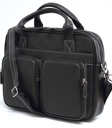 The Tech Briefcase - Black-19343