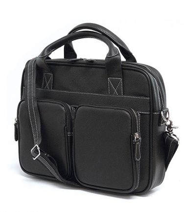 The Tech Briefcase - Black-0