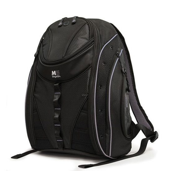 Express Backpack 2.0 - Black / Silver