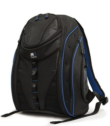 Express Backpack 2.0 - Black / Royal Blue-0