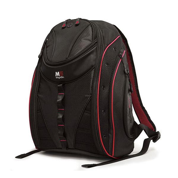 Express Laptop Backpack - Black / Red