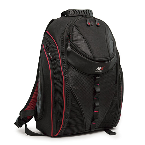 Express Laptop Backpack - Black / Red