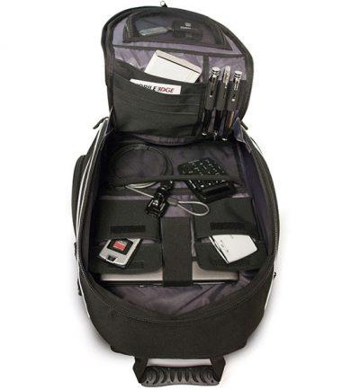 Express Laptop Backpack - Black / Red - Interior