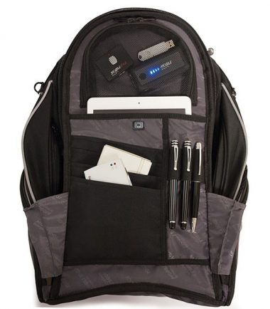 Express Backpack 2.0 - Black / Silver-19206