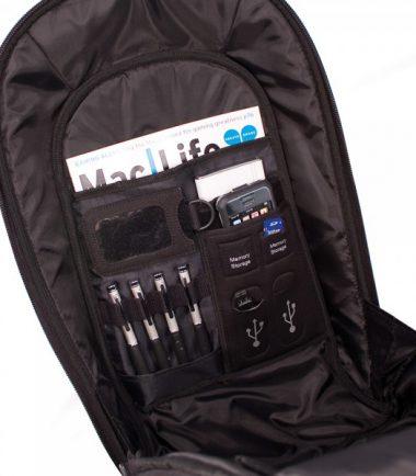 ECO Canvas Backpack 14.1 (Eco-Friendly, Black)-19160