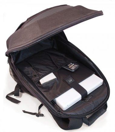 ECO Canvas Backpack 14.1 (Eco-Friendly, Black)-19158