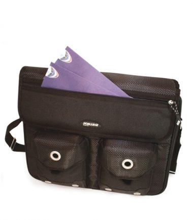 Edge Messenger - Easy Access Front Pockets and Ticket Pocket