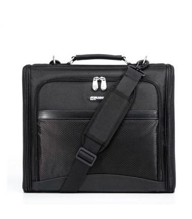 Mobile Edge - 2.0 Express Notebook Case 17 inch - Black - Removable, Adjustable Shoulder Strap