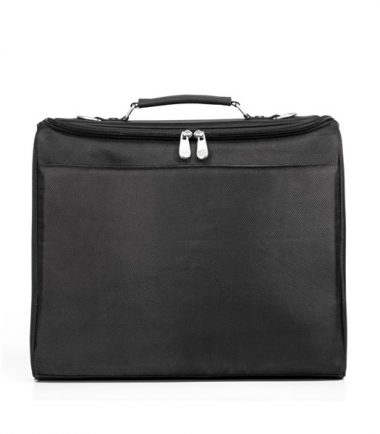 Mobile Edge - 2.0 Express Notebook Case 17 inch - Black - Back with File Compartment