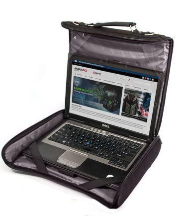 Mobile Edge - 2.0 Express Notebook Case 15.6 inch/16 inch - Black - Work directly out of the case