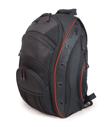 EVO Laptop Backpack - Black / Red-0