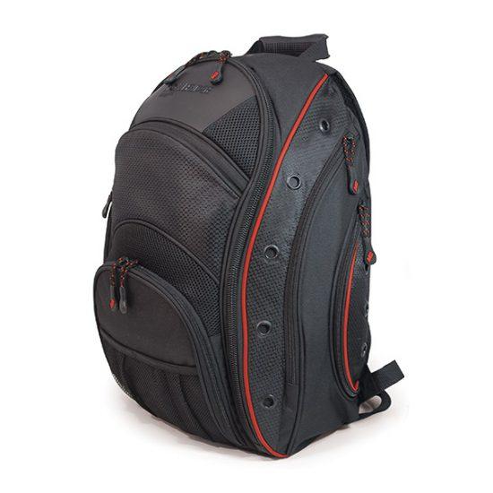 EVO Laptop Backpack - Black / Red-0