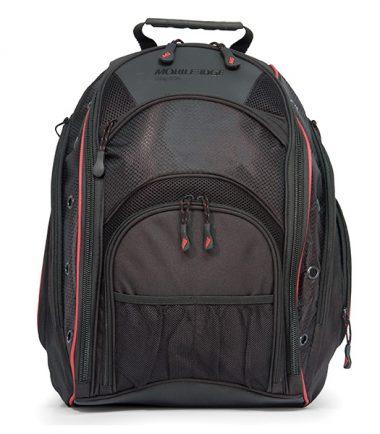 EVO Laptop Backpack - Black / Red-19301