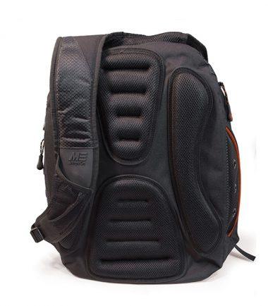 EVO Laptop Backpack - Black / Red-19302
