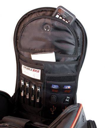 EVO Laptop Backpack - Black / Red-19305