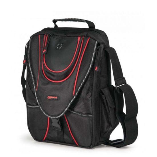 Mini Messenger - Black / Red-0