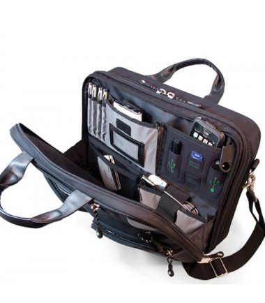 ScanFast Checkpoint Friendly Briefcase 2.0 - Lots of interior room for all your mobile gear