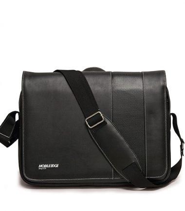 Slimline Chromebook / Ultrabook Messenger (Black / White)-19684