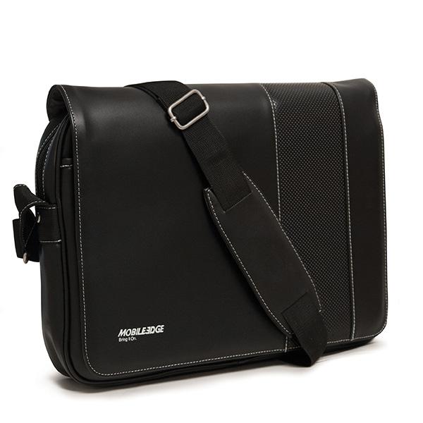 Slimline Chromebook / Ultrabook Messenger (Black / White)-0
