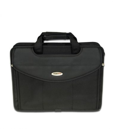 Premium V-Load - 17 inch Laptop Briefcase - Front