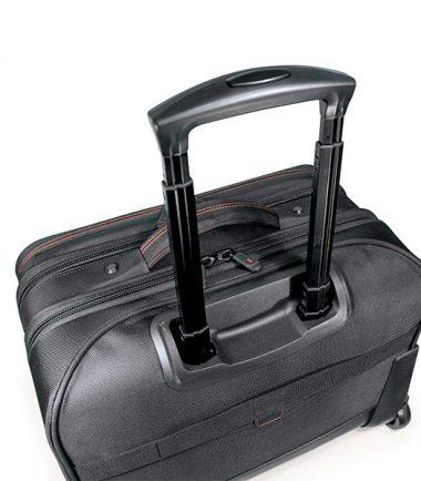 "Professional Rolling Laptop Case - 17.3"" - Black-19518"