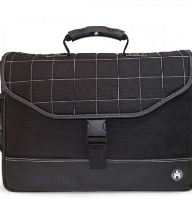 Sumo Laptop Briefcase - Premium, soft, durable and water-resistant ballistic nylon