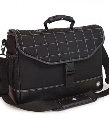 Sumo Laptop Briefcase - Exterior water bottle and accessory pockets