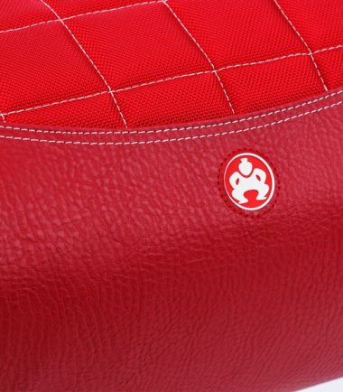 Sumo Duffel - Red with White Stitching - Small -