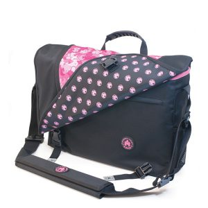 Sumo Messenger Bag - Black / Pink-0