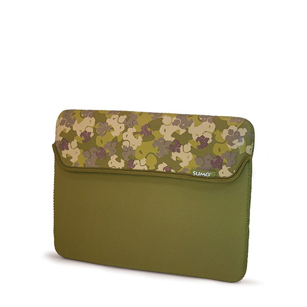Sumo Camo Sleeve - 10 inch Green - (Laptop Bag)