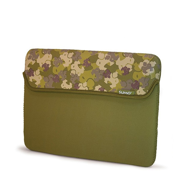 Sumo Camo Sleeve - 15 inch Green (Laptop Bag)